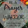 Be a Prayer Warrior: Seven Quick Takes
